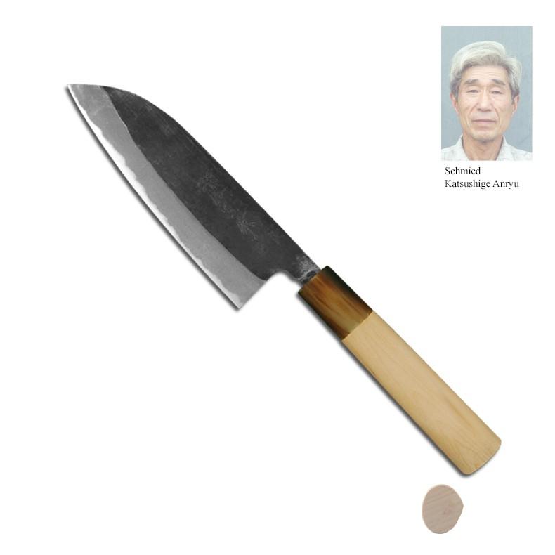 tp-Schmiede-Japanmesser-Santokumesser-Kuro-13-5cm-Schmiede-Katsushige-Anryu