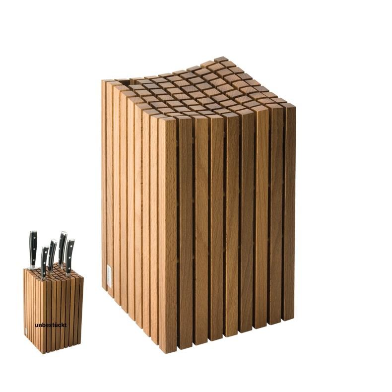 w sthof messerblock holzst be leer f r 12 messer 4724. Black Bedroom Furniture Sets. Home Design Ideas